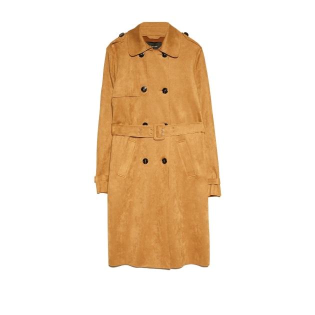 Trench coat Stradivarius | tlife.gr