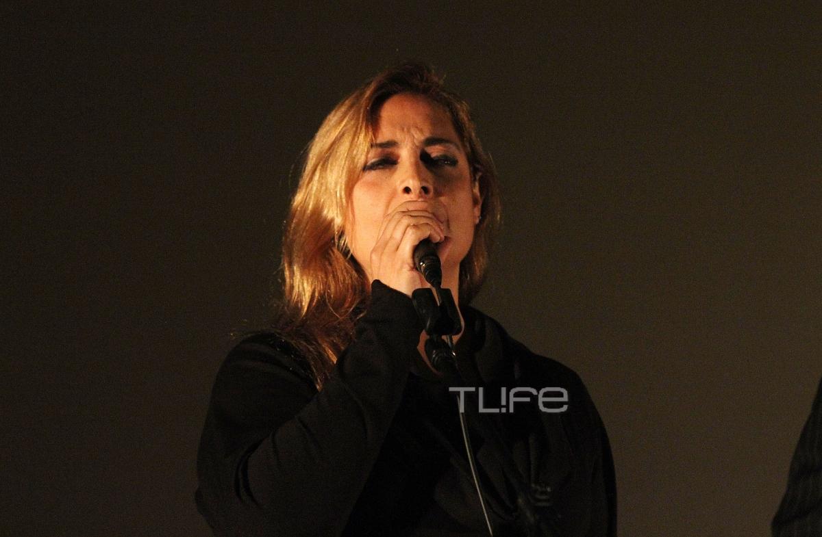 Σπάνια εμφάνιση για την Αλέξια – Τραγούδησε Μίκη Θεοδωράκη στην  προβολή της ταινίας του | tlife.gr