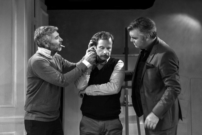 Θοδωρής Αθερίδης: Συναντά τον Άλκη Κούρκουλο και τον Γιώργο Πυρπασόπουλο στο Μικρό Παλλάς! | tlife.gr