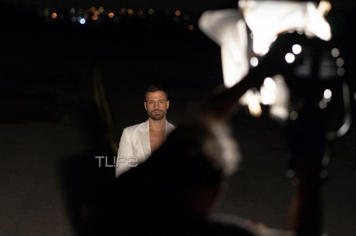 Κωνσταντίνος Αργυρός: Δες αποκλειστικές backstage φωτογραφίες από το νέο του βίντεο κλιπ!   tlife.gr