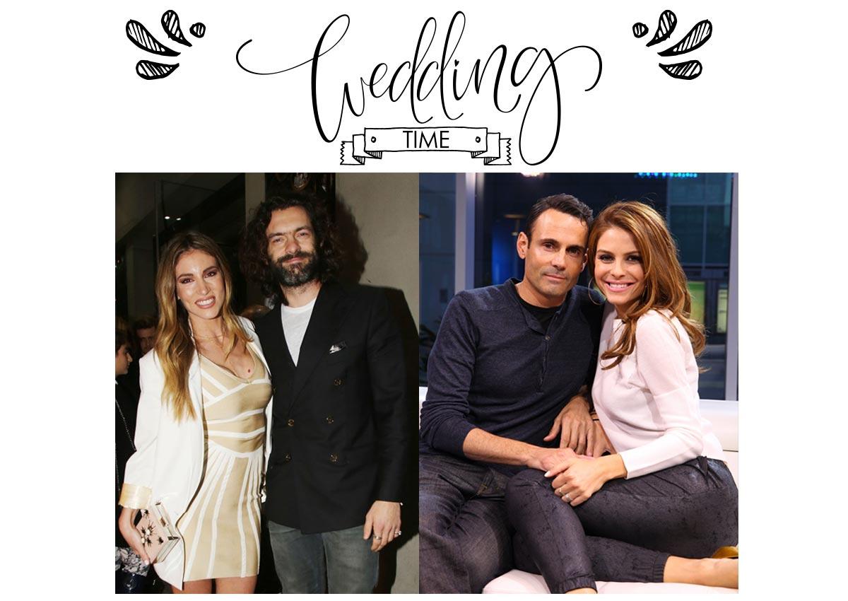Σήμερα παντρεύονται η Μαρία Μενούνος και η Αθηνά Οικονομάκου τους εκλεκτούς της καρδιάς τους!