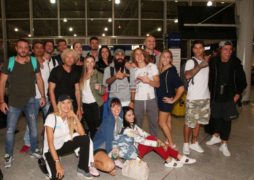 Nomads 2 : Οι πρωταγωνιστές μας αποχαιρετούν από το αεροδρόμιο λίγο πριν την μεγάλη αναχώρηση [pics] | tlife.gr