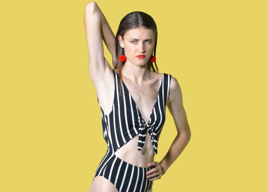 GNTM: Όταν η «Ρονάλντο» του reality μόδας Ειρήνη Ερμίδου πόζαρε γυμνή στην θάλασσα! [pic] | tlife.gr