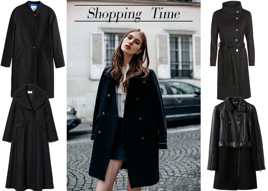 Οδηγός Αγοράς: Stylish μαύρα παλτό για ανανεωμένες χειμερινές εμφανίσεις | tlife.gr