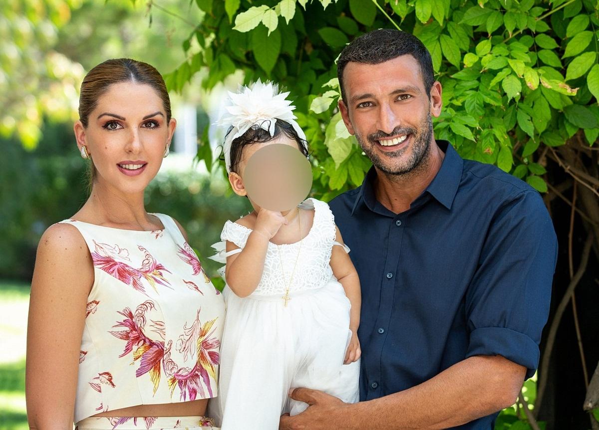 Μάνος Πανταζής – Αργυρώ Παντελεάκη: Βάφτισαν την κόρη τους! [pics] | tlife.gr
