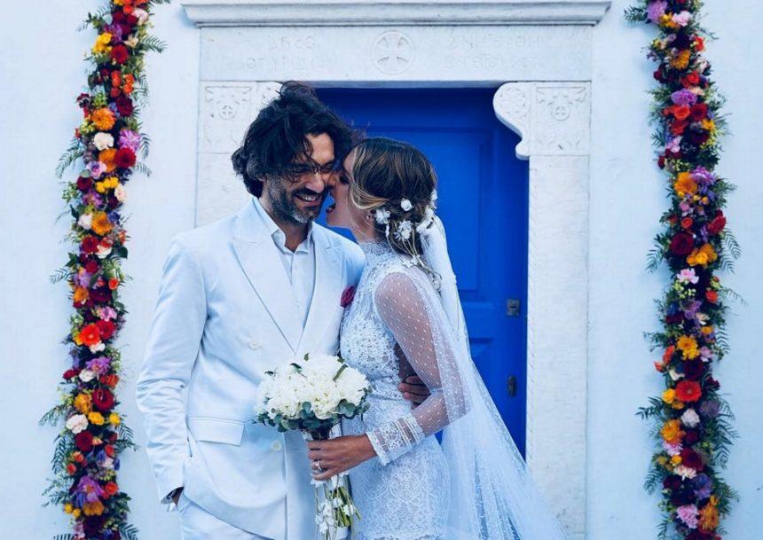 Αθηνά Οικονομάκου: Οι λεπτομέρειες του γάμου της μέσα από τα δικά της μάτια [pics] | tlife.gr