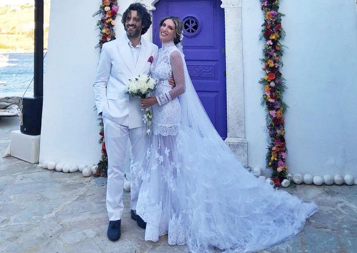 Αθηνά Οικονομάκου: Όλες οι λεπτομέρειες για το γάμο της στη Μύκονο! Βίντεο και φωτογραφίες | tlife.gr