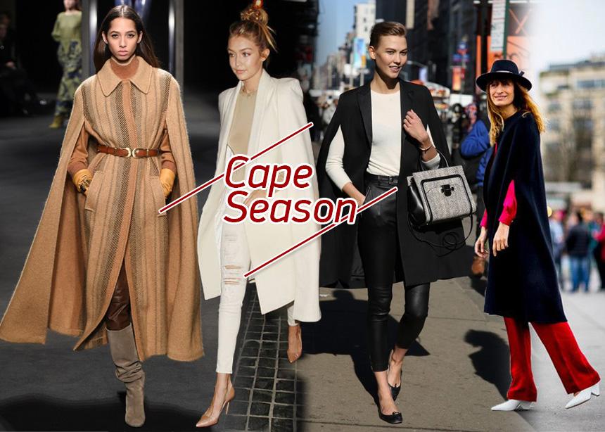 Κάπες: Συμβουλές για να φορέσεις αυτό το cosy πανωφόρι σύμφωνα με τους οίκους, τις σταρ και τα it girls | tlife.gr