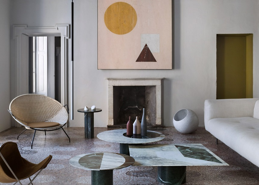 Casa Salvatori: Ένα iconic διαμέρισμα φτιαγμένο εξολοκλήρου από μάρμαρο | tlife.gr