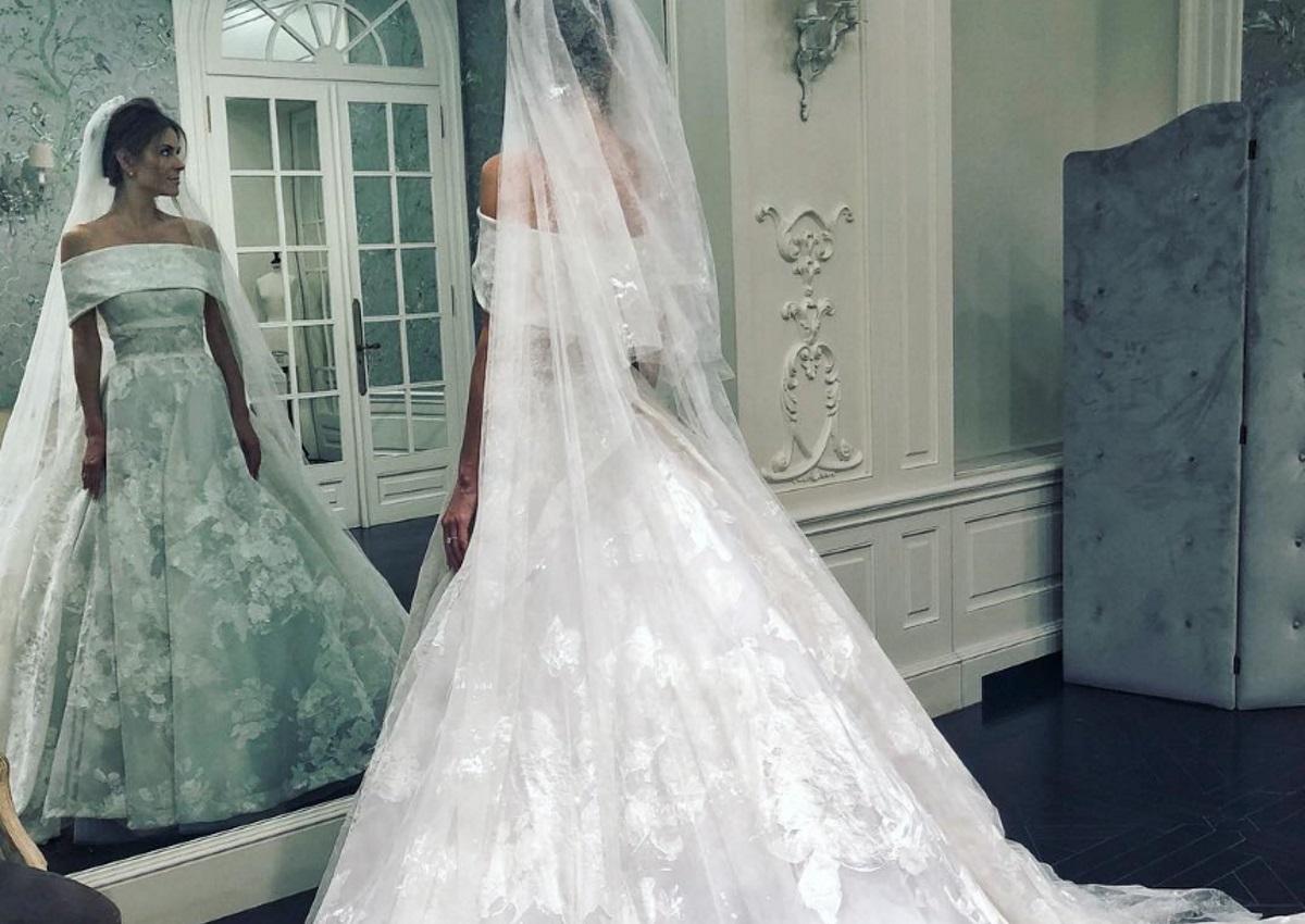 Μαρία Μενούνος: Το δεύτερο φόρεμα που επελεξε για το γάμο της – Video