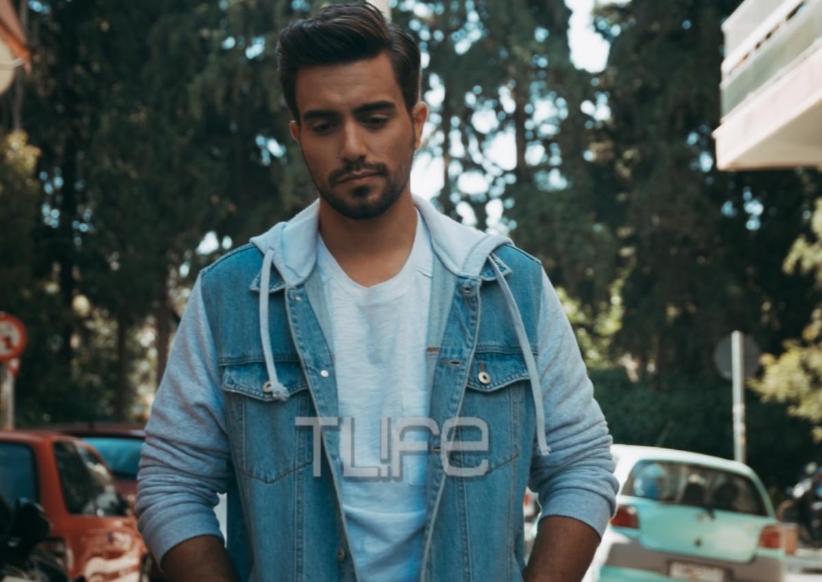 Γιάννης Χατζηγεωργίου: Τρυπώσαμε στα γυρίσματα του νέου του video clip με πρωταγωνίστρια την αδερφή του! | tlife.gr