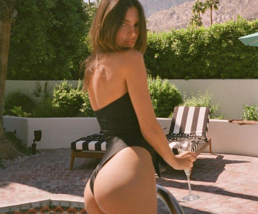 Η Εmily Ratajkowski… ξαναχτυπά με σέξι φωτογραφίες στην πισίνα πίνοντας σαμπάνια! [pics] | tlife.gr