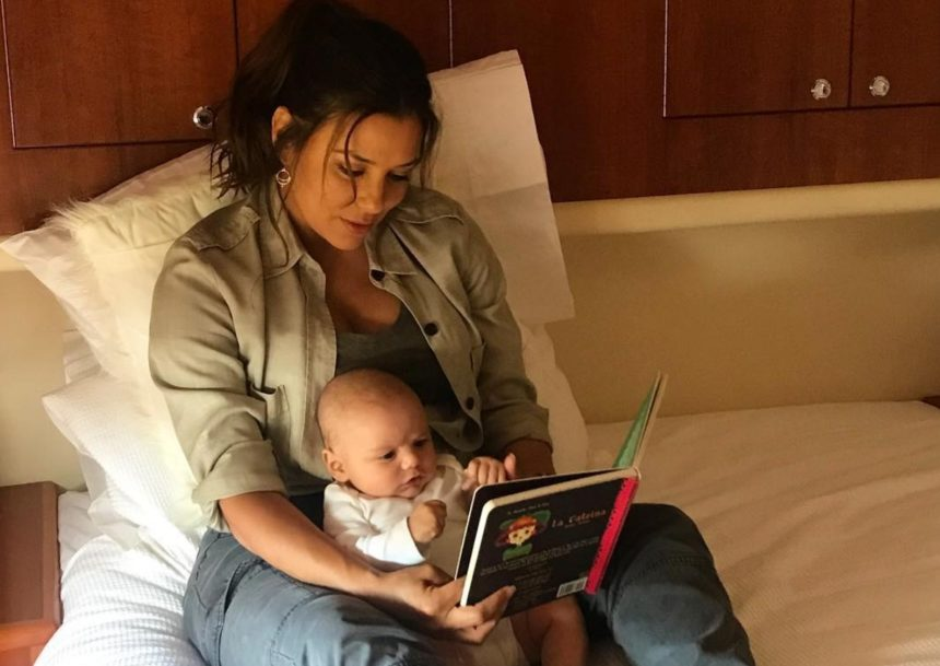 Eva Longoria: Ο γιος της έγινε τεσσάρων μηνών! [pics]   tlife.gr