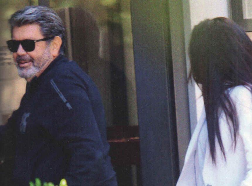Γιάννης Λάτσιος: Για καφέ στην Κηφισιά με μελαχρινή καλλονή! [pics] | tlife.gr