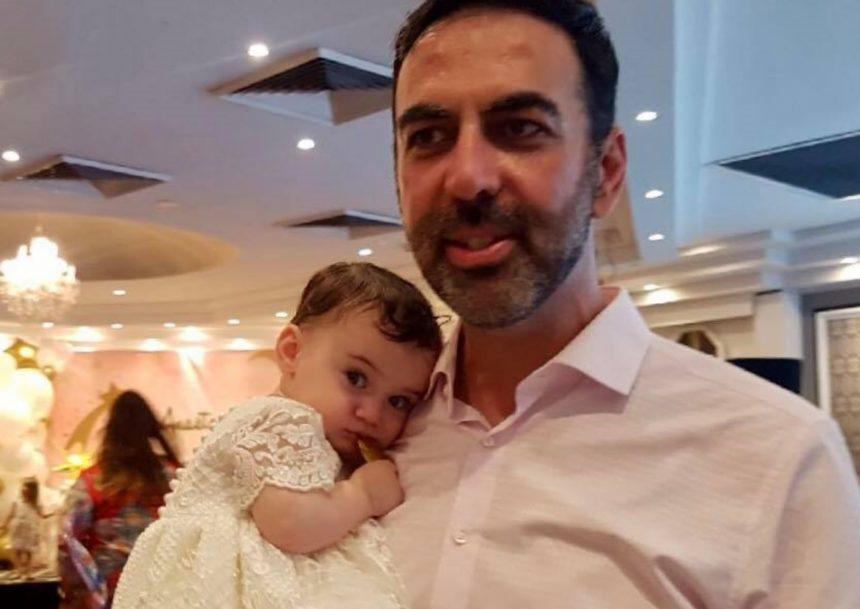 Κώστας Γρίμπιλας: Βάφτισε την 8 μηνών κορούλα του! [pics] | tlife.gr