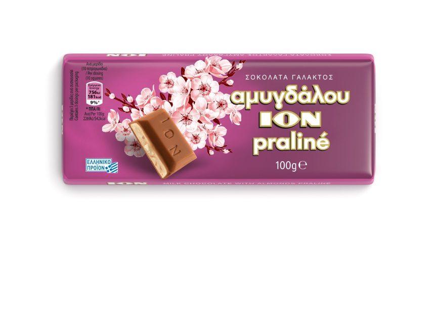 Η ΙΟΝ καλωσορίζει την νέα σοκολάτα Praliné στην οικογένεια της ΙΟΝ Αμυγδάλου | tlife.gr