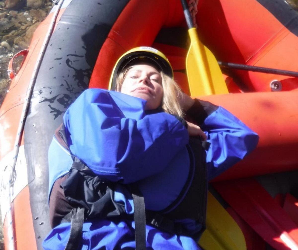 Τζένη Μπαλατσινού: Για rafting και αναρρίχηση με τον γιο της Μάξιμο! Φωτογραφίες | tlife.gr