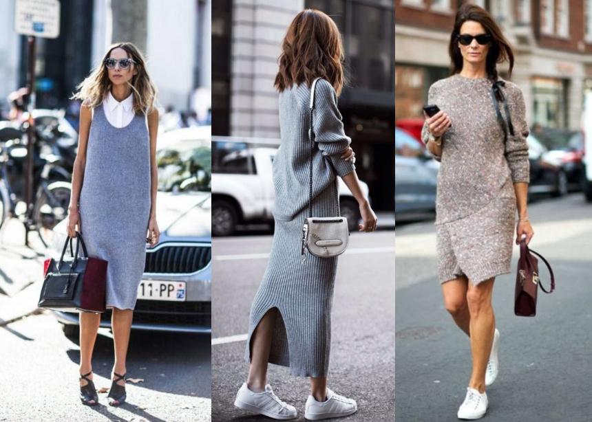 4c1bac6f039 Πλεκτό φόρεμα: Το κομμάτι που πρέπει να βάλεις στα everyday look σου ...
