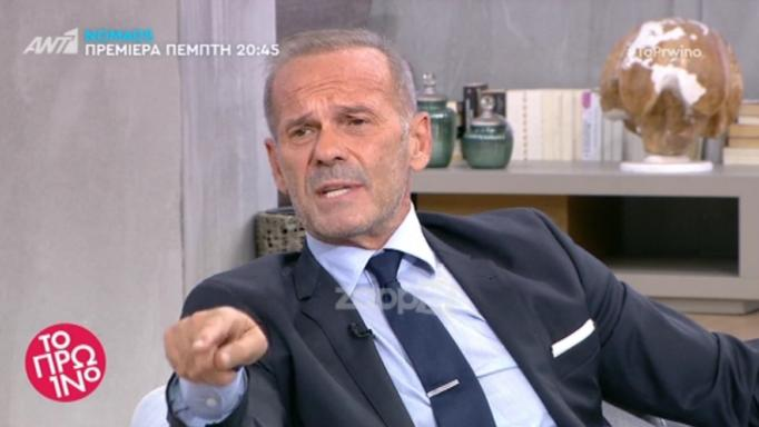 Πέτρος Κωστόπουλος: «Συμφωνώ απόλυτα με τον Γιώργο Καπουτζίδη»   tlife.gr