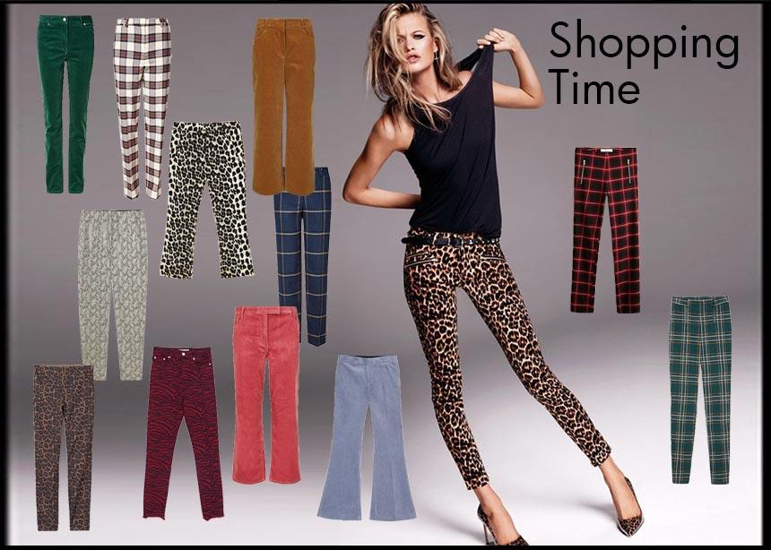 Κοτλέ, καρό, animal print: Τα πιο τέλεια παντελόνια της αγοράς στη βιτρίνα του Tlife | tlife.gr