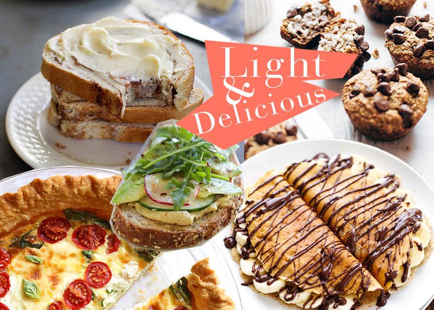 Light πρωινό! Νόστιμες συνταγές με λίγες θερμίδες για γρήγορο μεταβολισμό και έξτρα ενέργεια | tlife.gr