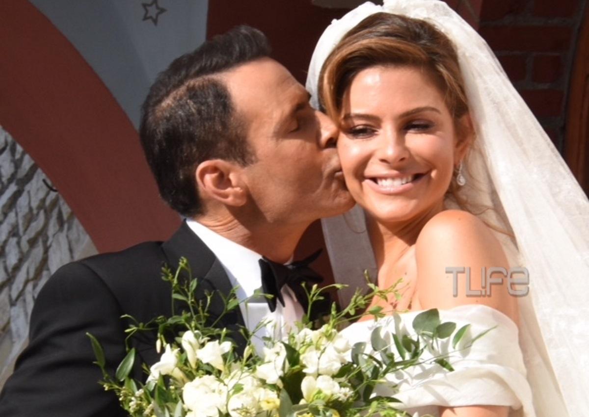 Μαρία Μενούνος – Keven Undergaro: Ο παραδοσιακός γάμος τους στο Άκοβο! Φωτογραφίες και βίντεο