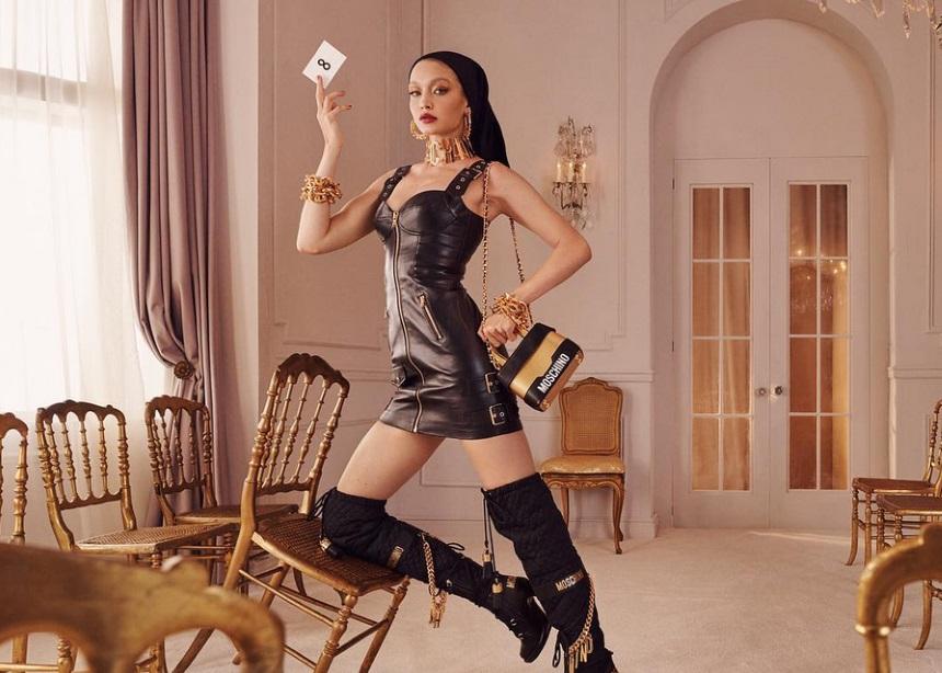 Moschino x H&M: Μια καμπάνια με playfull – pop στοιχεία και με πρωταγωνίστρια την… Gigi Hadid
