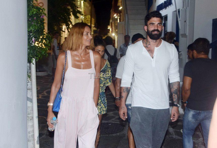 Μαρία Καλάβρια – Δημήτρης Αλεξάνδρου: Με ποιο διάσημο ζευγάρι έπαιζαν χθες μπιρίμπα; video | tlife.gr