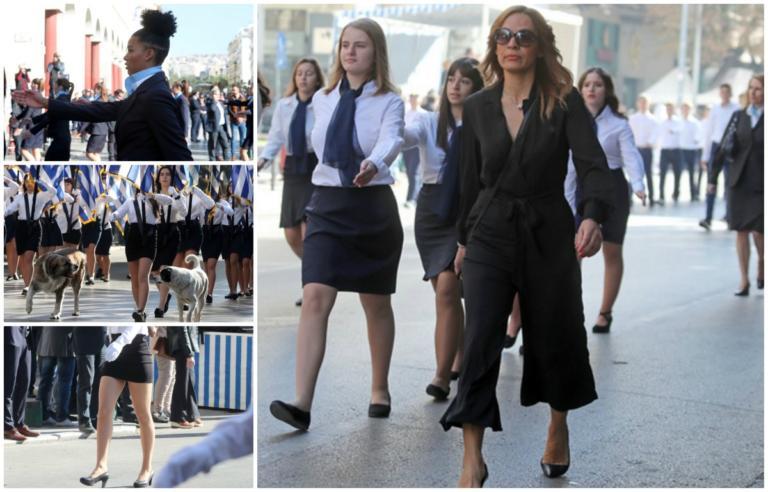Παρέλαση 28η Οκτωβρίου: Μαλλιά… Next Top Model, «πατροπαράδοτα» μίνι, καθηγήτρια «στην πένα»! video, pics | tlife.gr