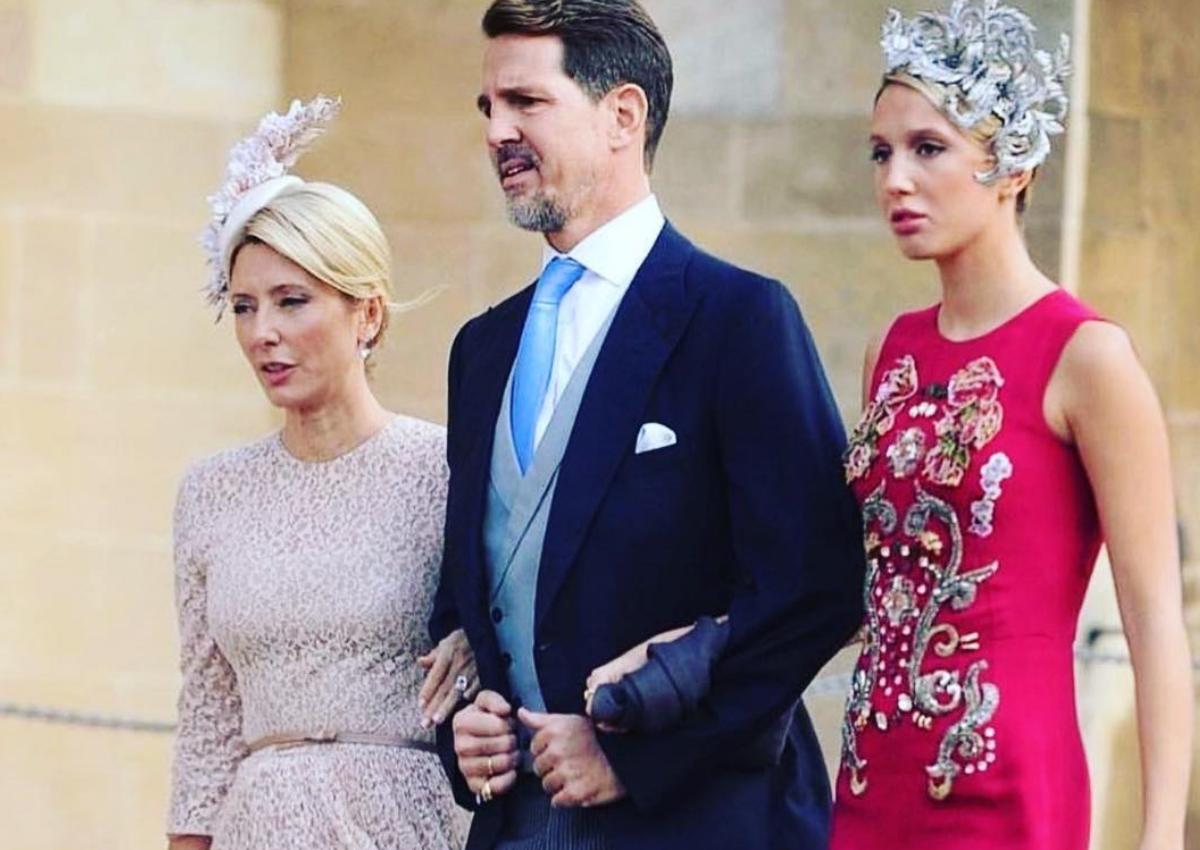 Marie Chantal: Εντυπωσιακή εμφάνιση με τον Παύλο και την Μαρία Ολυμπία στο γάμο της πριγκίπισσας Ευγενίας!   tlife.gr