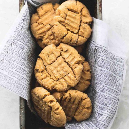 Πανεύκολα και σούπερ μαλακά μπισκότα φυστικοβούτυρου | tlife.gr