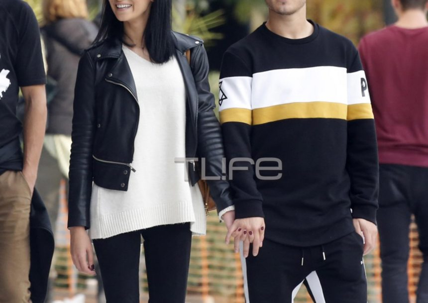 Ποδοσφαιριστής του ΠΑΟΚ, βόλτα με την αγαπημένη του! Την ερωτεύτηκε όταν πήγε να αγοράσει αθλητικά παπούτσια! [pics]   tlife.gr