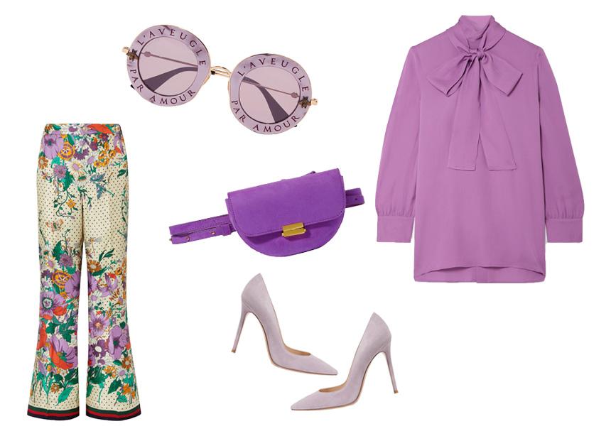 Έτοιμη για fashionable εμφανίσεις; Ρούχα και αξεσουάρ στο must χρώμα της σεζόν (aka το μοβ) | tlife.gr