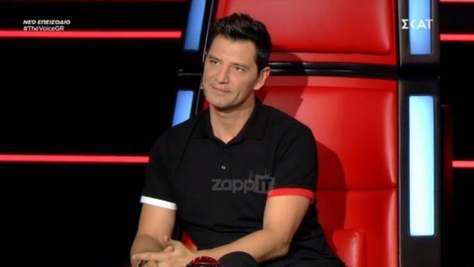 The Voice: Συγκινήθηκε ο Σάκης Ρουβάς! «Επέλεξες ένα υπέροχο τραγούδι…» | tlife.gr