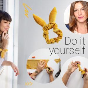 Η Πόπη Αναστούλη σου δείχνει βήμα – βήμα πως να φτιάξεις ένα στιλάτο scrunchie