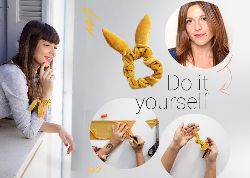 DIY: Βήμα – βήμα πως να φτιάξεις ένα στιλάτο scrunchie (aka το must – have αξεσουάρ μαλλιών) | tlife.gr