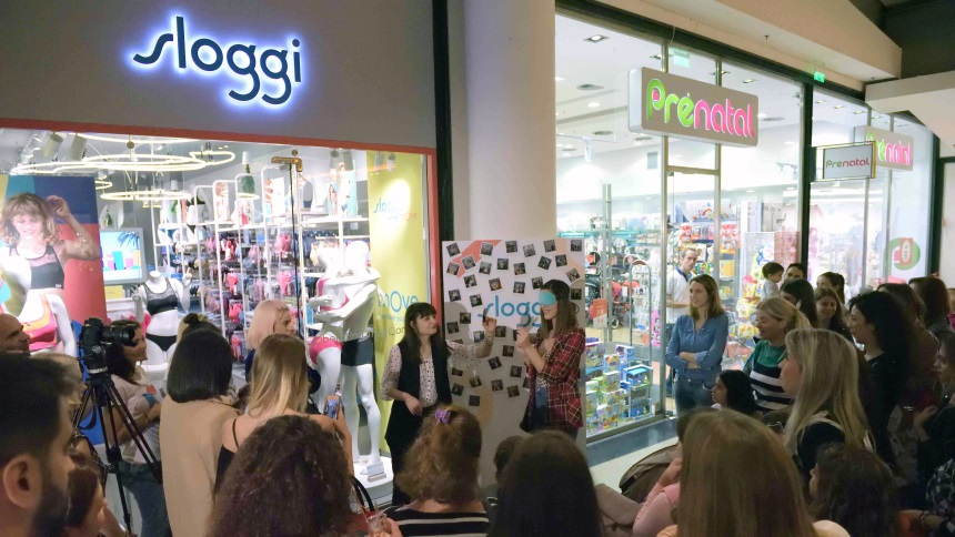 Το πρώτο κατάστημα Sloggi είναι γεγονός και βέβαια το opening ήταν από μόνο  του ένα γιορτινό event με happenings και πλούσια δώρα! f39142b2180