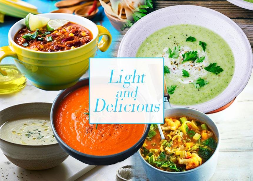 Συνταγές με λιγότερο από 150 θερμίδες! Light και γευστικές σούπες που βοηθούν στο αδυνάτισμα | tlife.gr