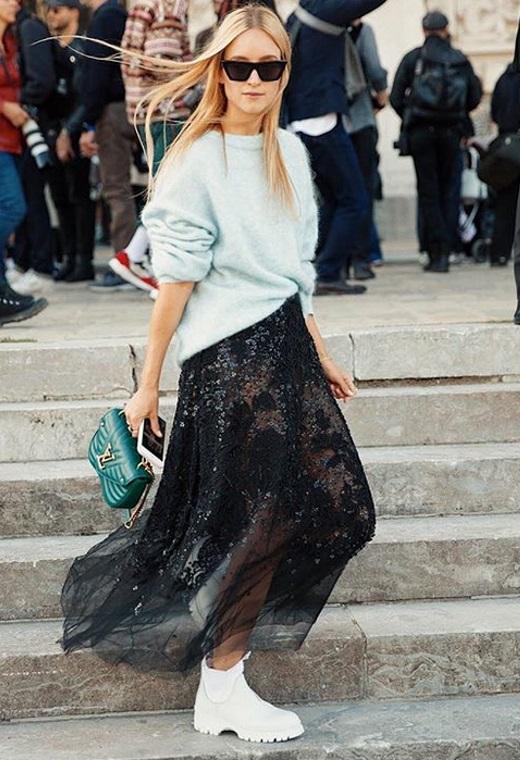Παρίσι με διάφανη φούστα | tlife.gr