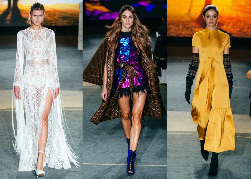 Taste the Fashion: Οι συλλογές των Ελλήνων σχεδιαστών που παρουσιάστηκαν στο fashion & gourmet δείπνο | tlife.gr