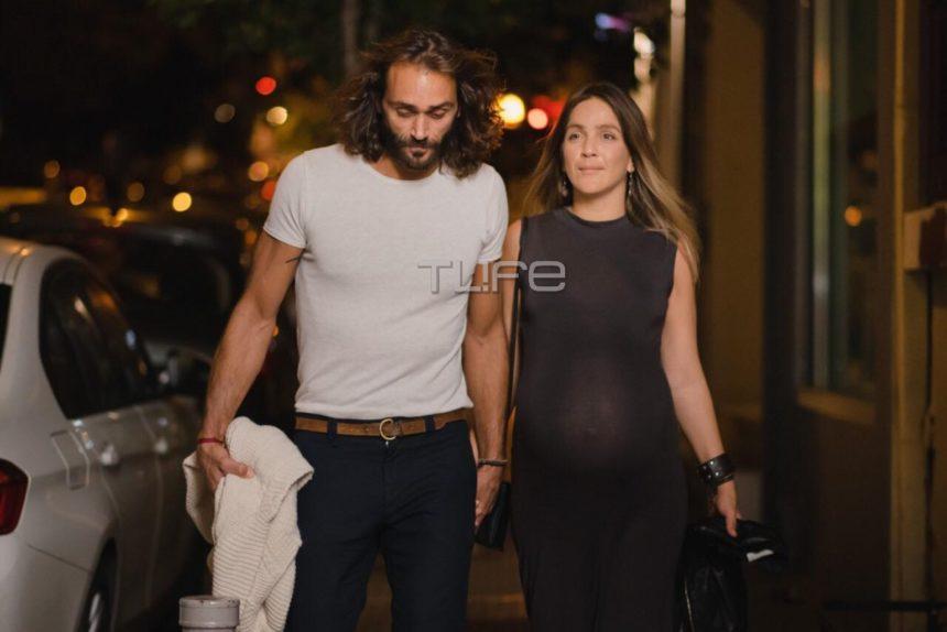 Τεό Θεοδωρίδης: Βραδινή έξοδος με την αγαπημένη του, λίγο πριν έρθουν τα δίδυμα! [pics] | tlife.gr