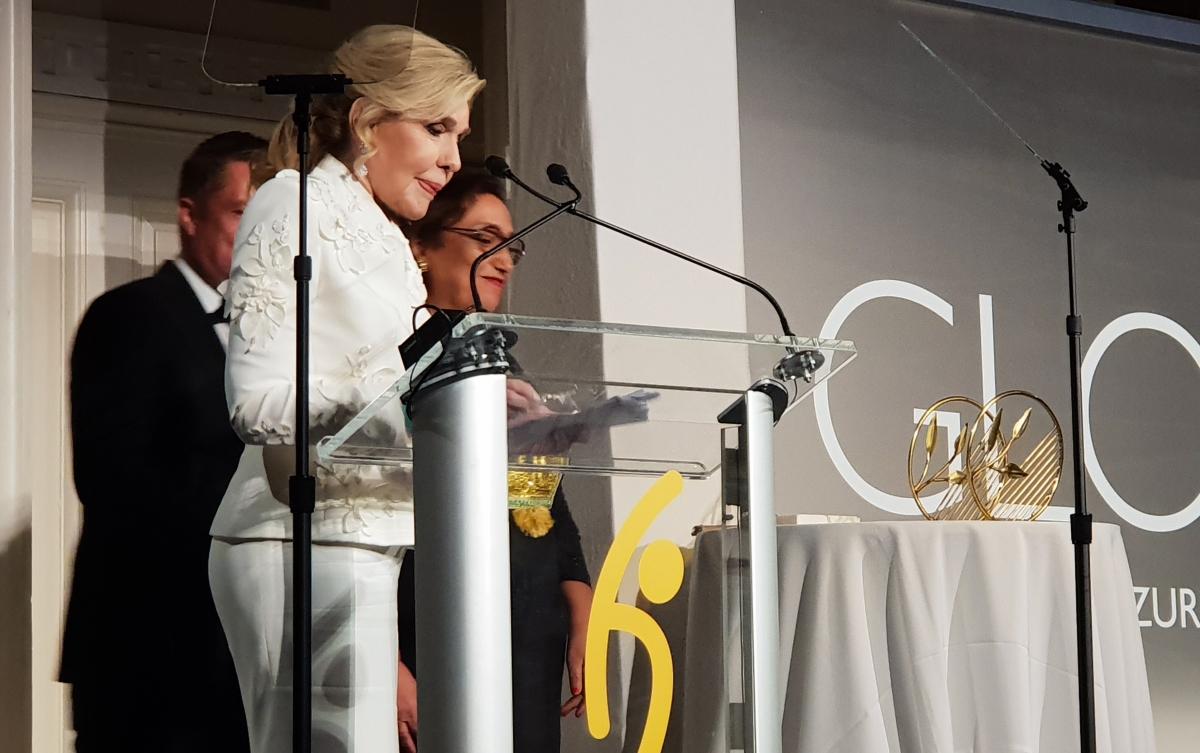 Μαριάννα Βαρδινογιάννη: Σε δείπνο ελπίδας στη Νέα Υόρκη! [pics] | tlife.gr