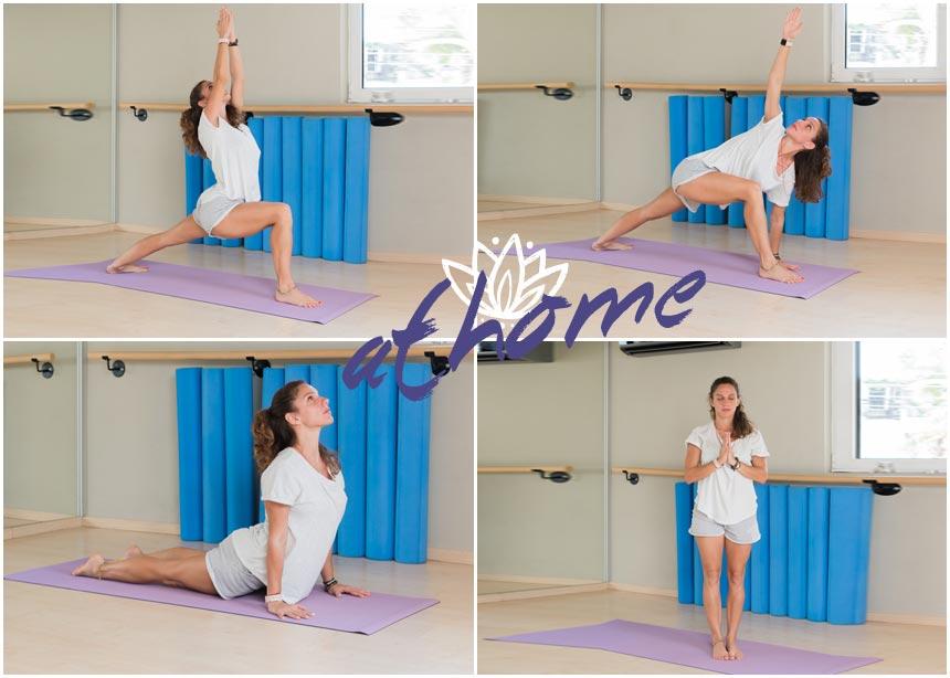 Γυμναστική στο σπίτι: Βήμα – βήμα ασκήσεις yoga για ενδυνάμωση και γράμμωση | tlife.gr