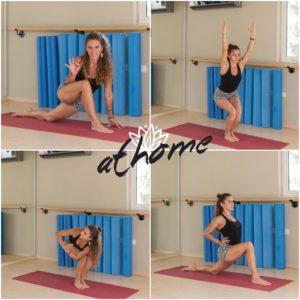 Ασκήσεις yoga για γράμμωση, καλοσχηματισμένο σώμα και ευλυγισία