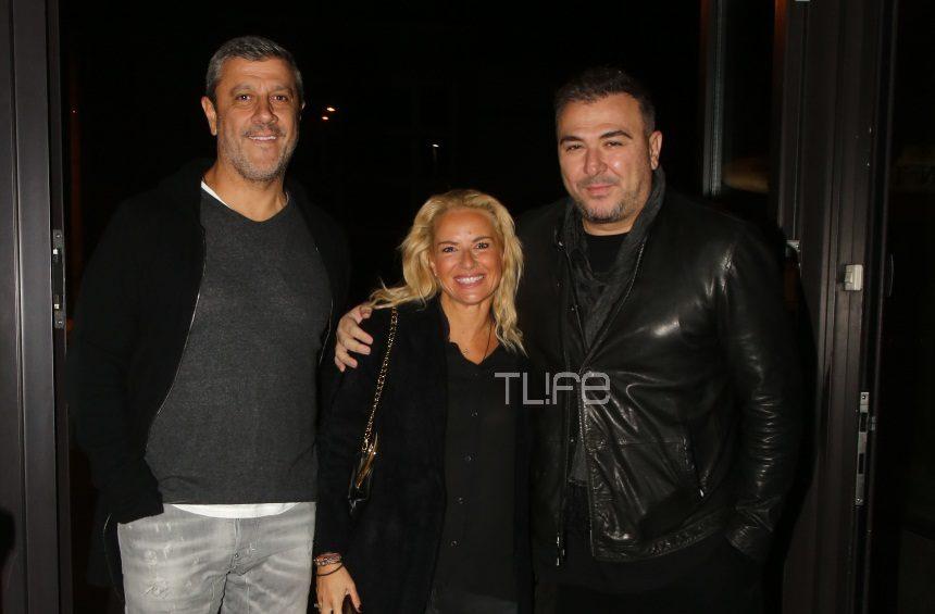 Αντώνης Ρέμος – Μαρία Μπεκατώρου: Οι κουμπάροι πήγαν θέατρο! [pics] | tlife.gr