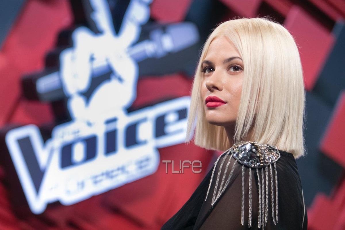 Λάουρα Νάργες: Το εντυπωσιακό της look για το αποψινό επεισόδιο του The Voice of Greece! Φωτογραφίες | tlife.gr