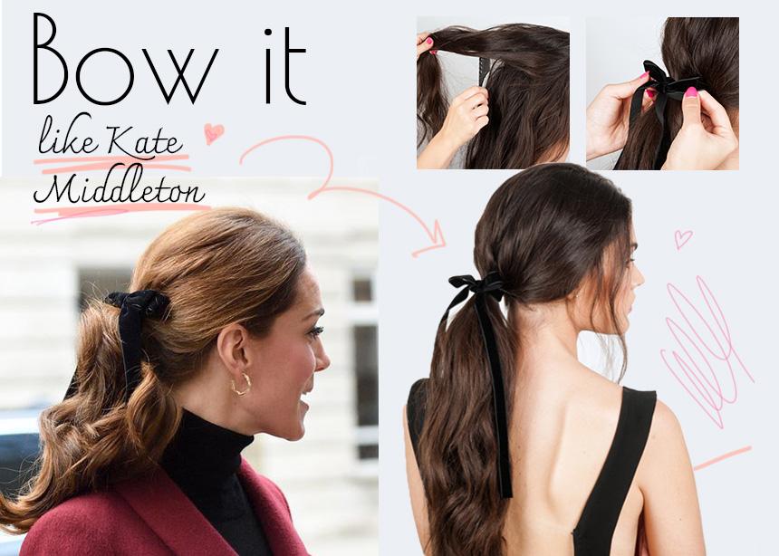Βήμα- βήμα πώς να κάνεις το royal ponytail της Kate Middleton   tlife.gr