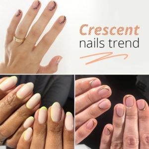 Crescent nail art: έχουμε trend alert στα νύχια και αυτό είναι το επόμενο μανικιούρ που πρέπει να κάνεις!