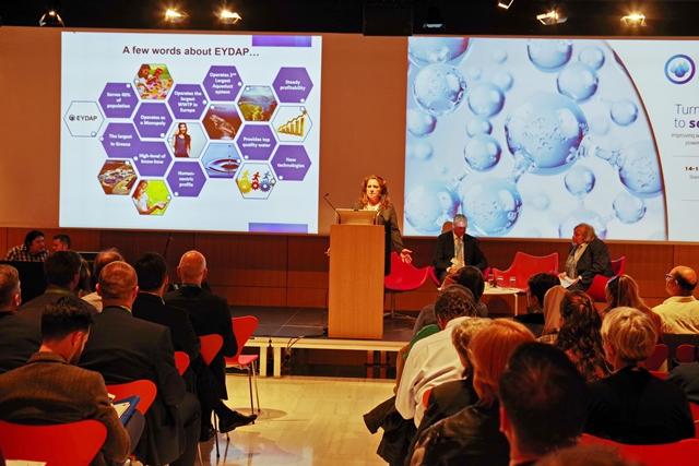 ΕΥΔΑΠ: Το ετήσιο Workshop European Benchmarking Cooperation  Κέντρο Πολιτισμού Σταύρος Νιάρχο | tlife.gr