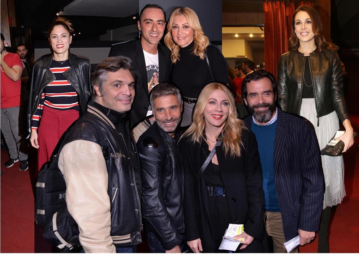 Θανάσης Αλευράς: Καταχειροκροτήθηκε ως «Μαλάμω» – Ποιοι celebrities πήγαν; [pics] | tlife.gr